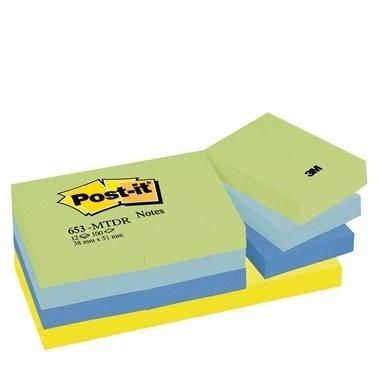 3M Not Kağıdı Mint Serisi Renkli